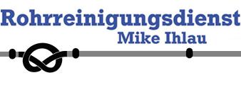 Rohrreinigungsdienst Mike Ihlau - Logo